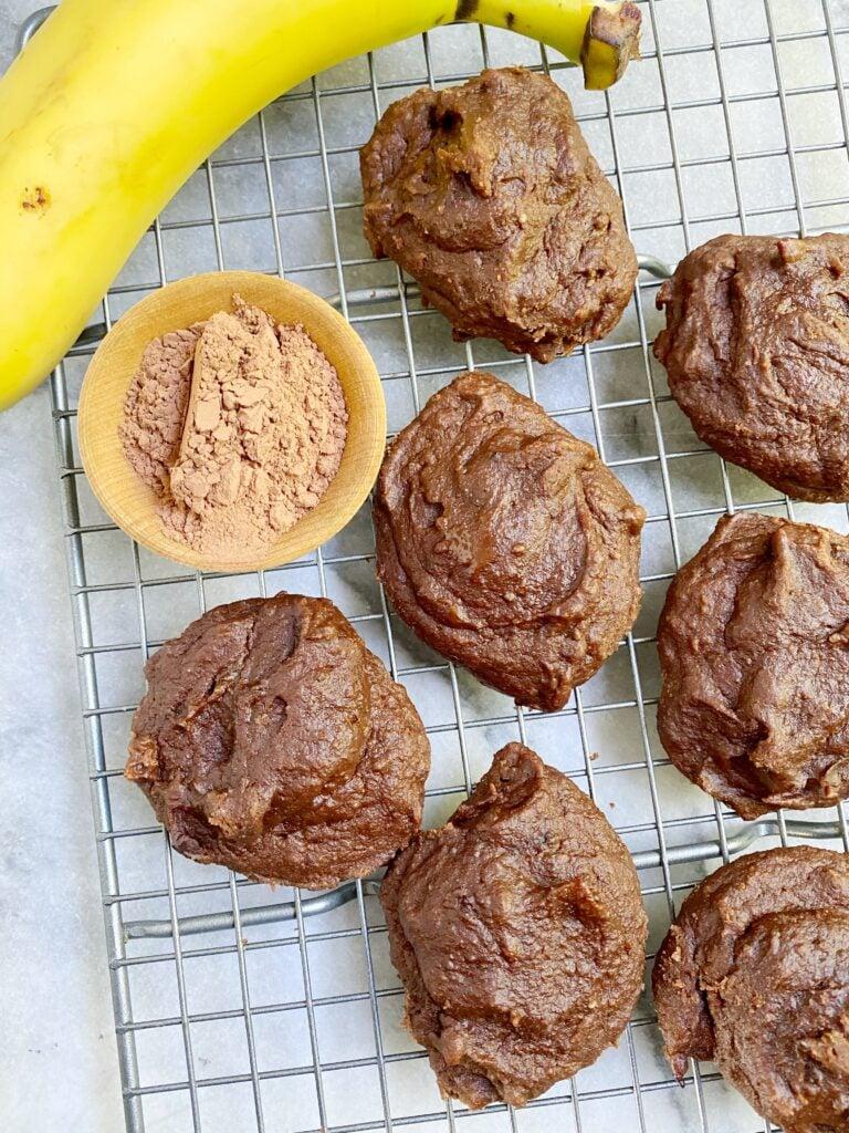 Chocolate Banana Cookies2 768x1024 - No Sugar Chocolate Banana Cookies (Paleo)