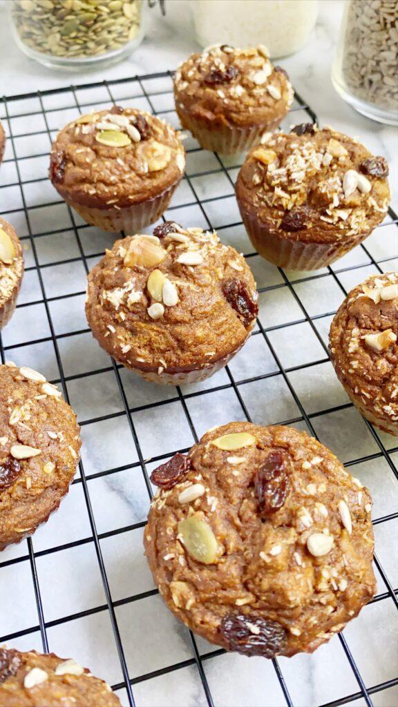 Morning Glory Muffins 2 576x1024 - Paleo Morning Glory Muffins (Gluten-Free & Grain-Free)