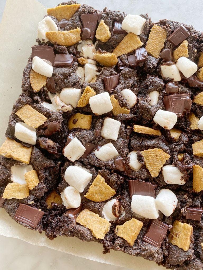 brownies2 768x1024 - S'Mores Brownies (Vegan & Gluten-Free)