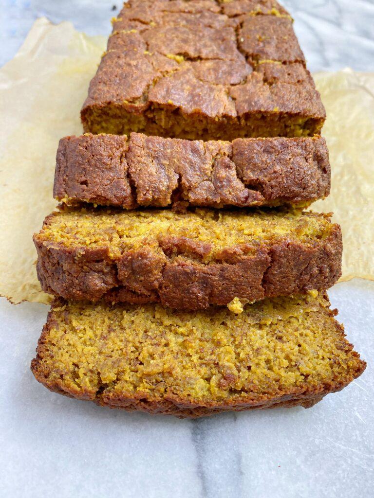gold4 768x1024 - Golden Mylk Paleo Banana Bread