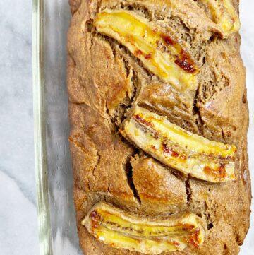 Banana Foster Banana Bread (Gluten-Free & Dairy-Free)