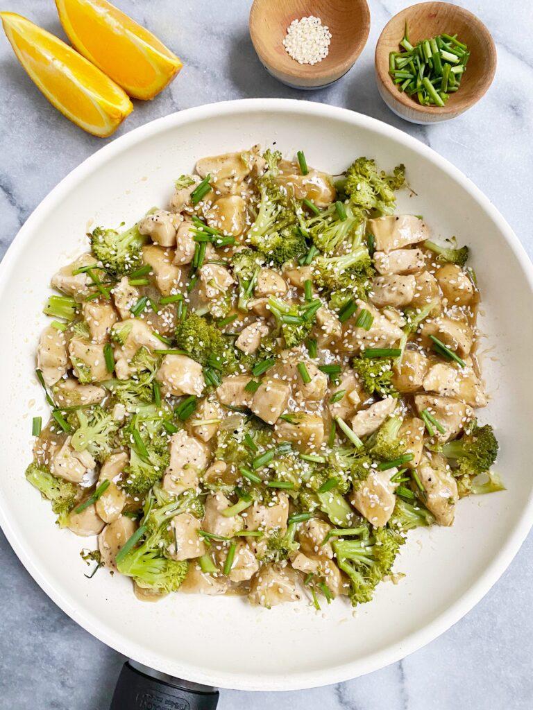 healthy orange chicken1 768x1024 - Paleo Orange Chicken & Broccoli