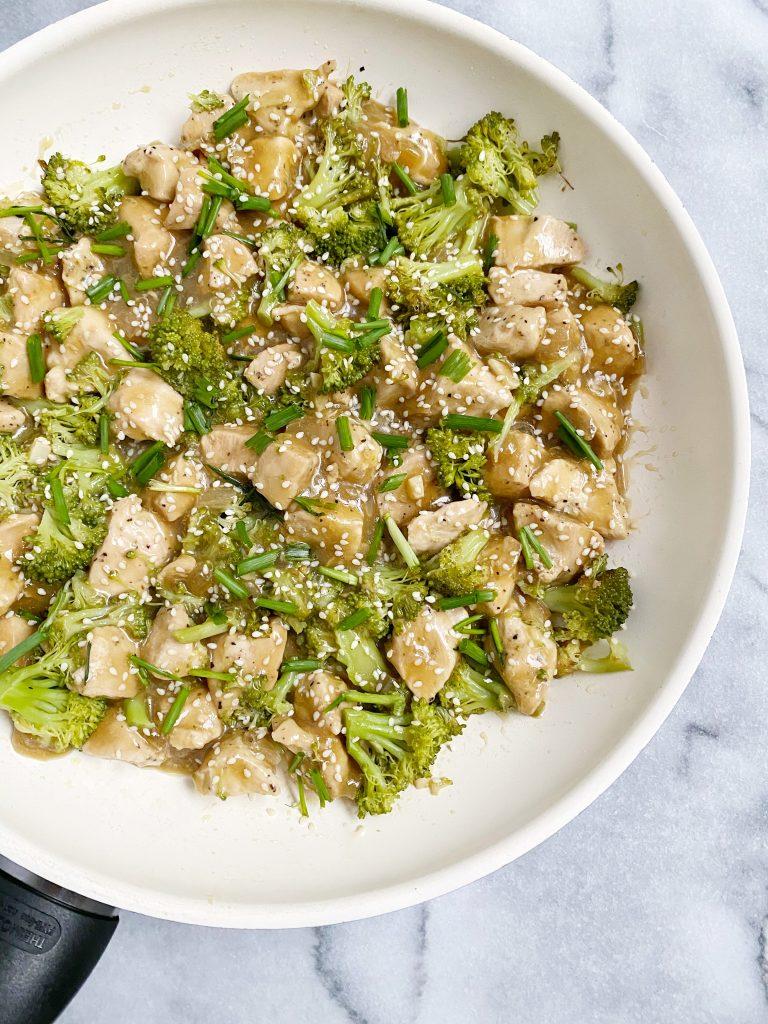 healthy orange chicken3 768x1024 - Paleo Orange Chicken & Broccoli