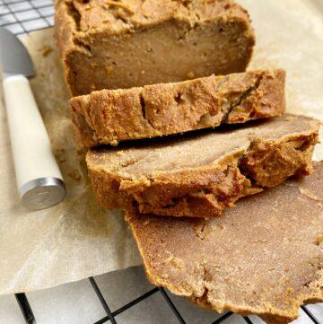 Cassava Flour Banana Bread (Vegan, Paleo, Nut-Free)