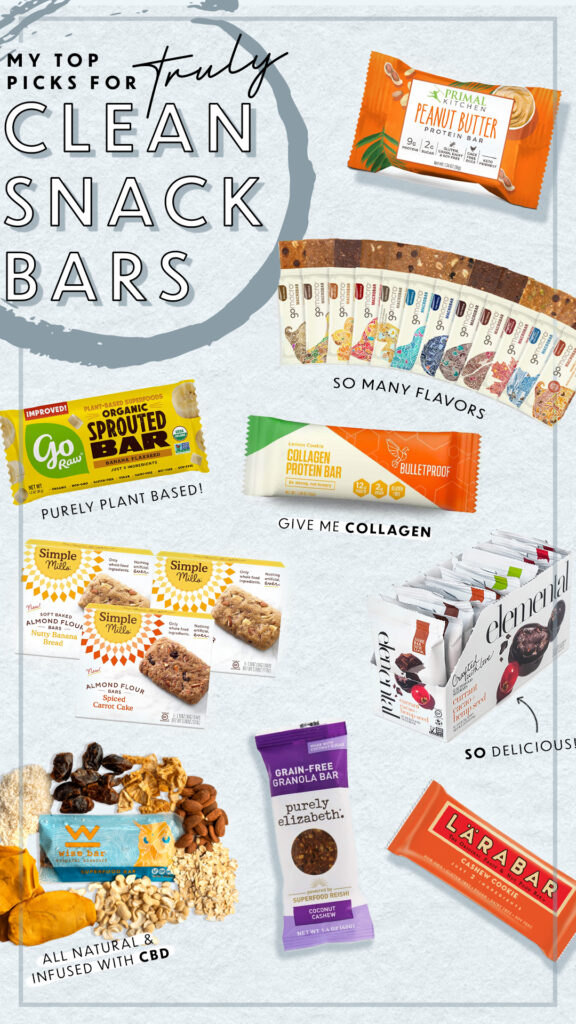 My Top Picks for Truly Clean Snack Bars