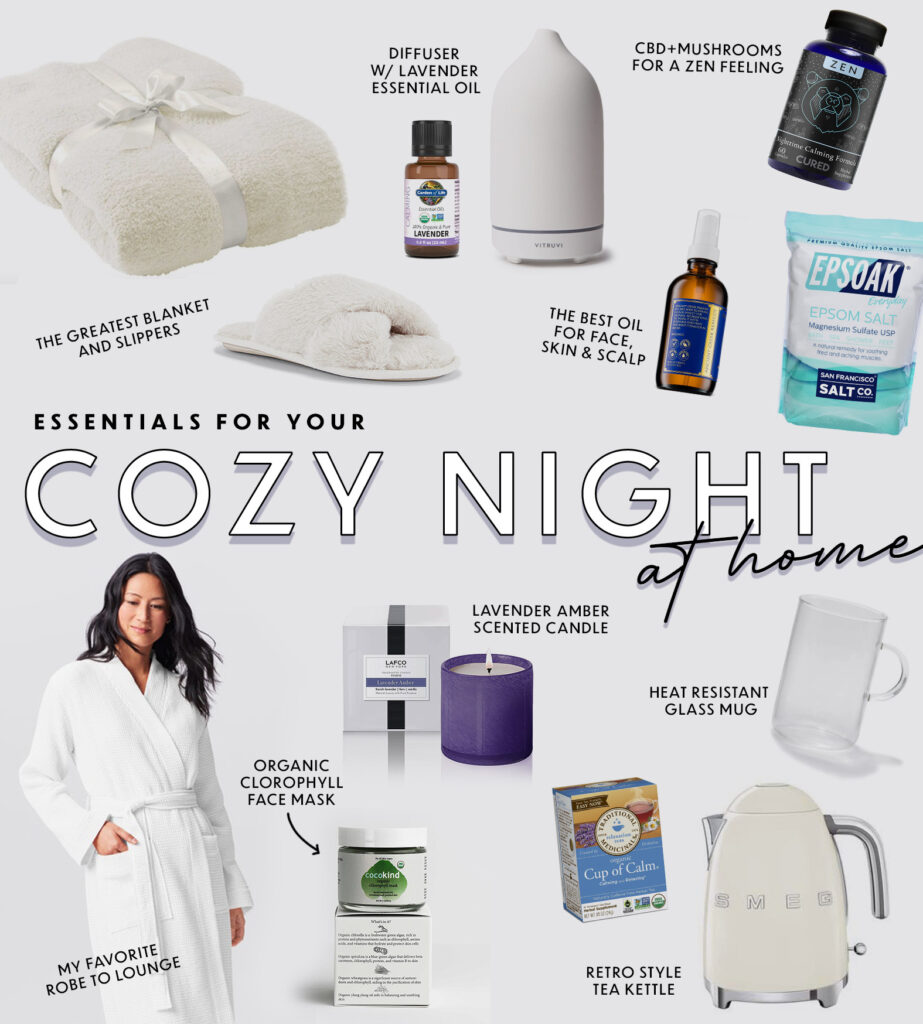 Everything You Need For a Cozy Night In