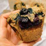 blueberry muffins 150x150 - Vegan & Gluten-Free Blueberry Muffins