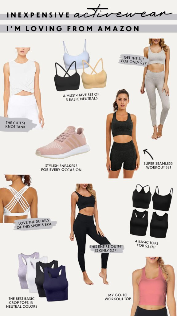 Inexpensive Activewear from Amazon
