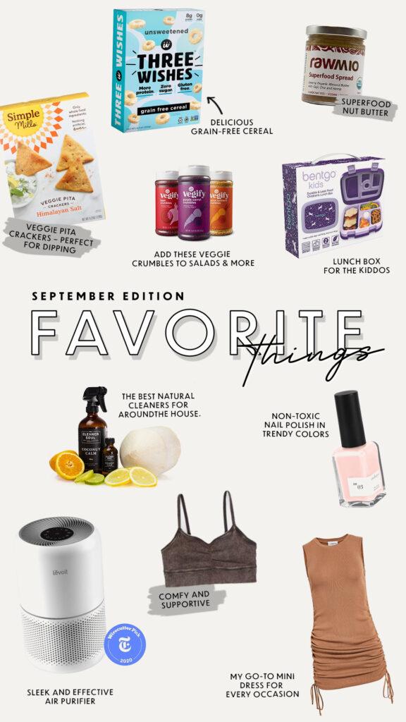 Favorite Things September Edition