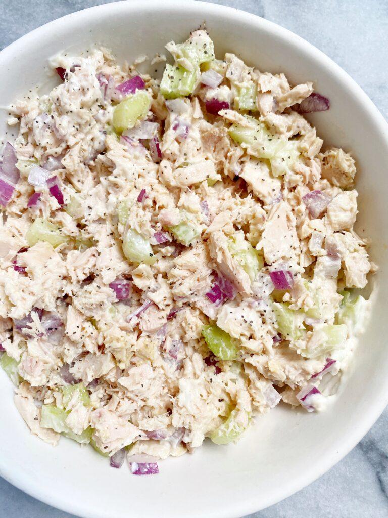 tuna1 768x1024 - The Best Healthy Tuna Salad