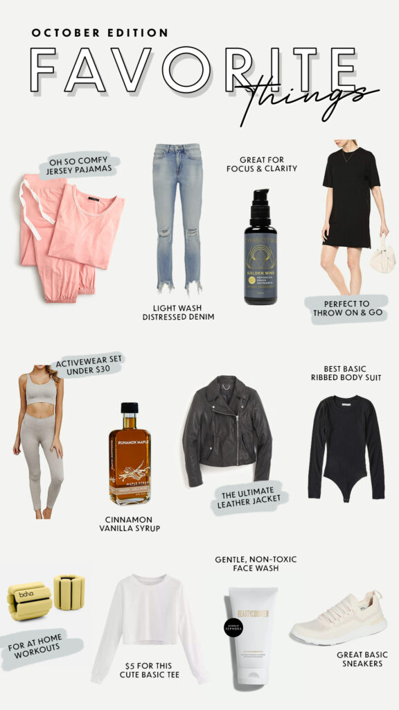 Favorite Things October Edition