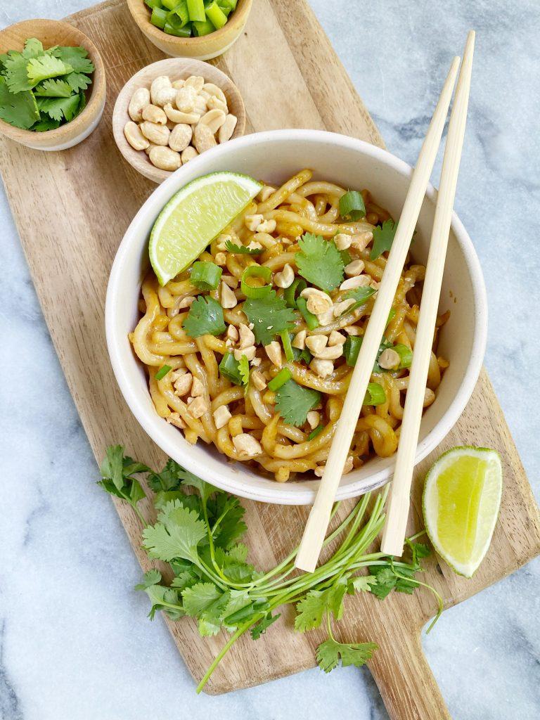 annie chuns 4 768x1024 - Spicy Peanut Butter Stir-Fry Noodles (Vegan)