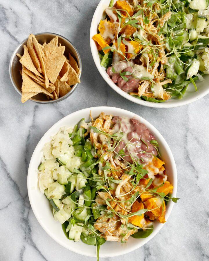 Healthy BBQ Chicken Salad