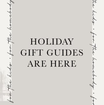 2020 Holiday Gift Guides