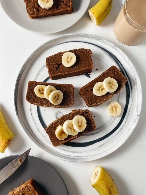 Vegan Gingerbread Banana Bread