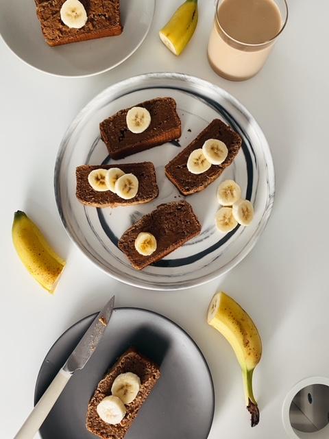 gingerbread banana bread - Vegan Gingerbread Banana Bread