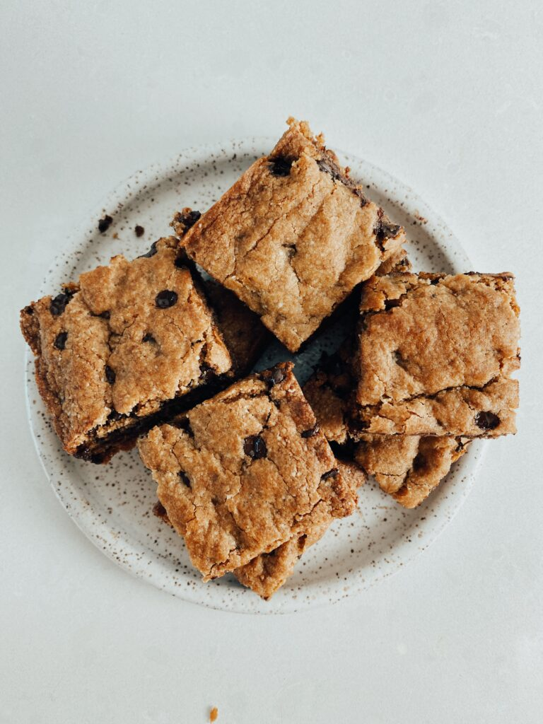 Almond Flour Chocolate Chip Cookie Bars2 768x1024 - Almond Flour Chocolate Chip Cookie Bars
