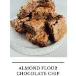 almond flour chocolate chip cookie bars paleo 150x150 - Almond Flour Chocolate Chip Cookie Bars