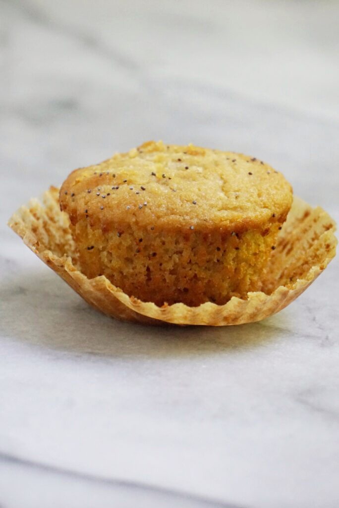 paleo lemon poppyseed muffins 684x1024 - The BEST Paleo Lemon Poppyseed Muffins