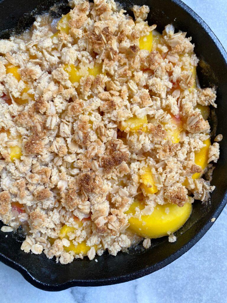peach crisp 3 scaled 1 768x1024 - The Best Gluten-Free Peach Crisp