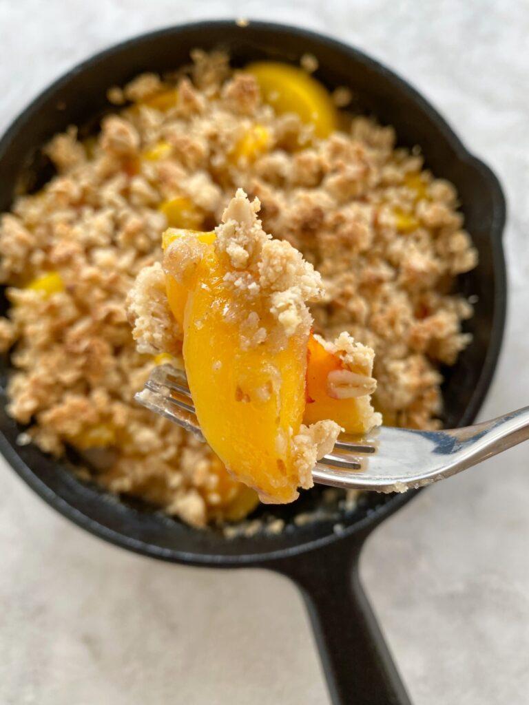 peach crisp2 scaled 1 768x1024 - The Best Gluten-Free Peach Crisp