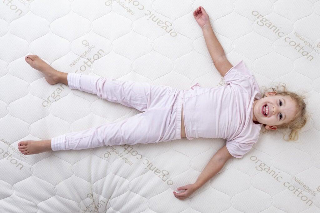 naturepedic blog 1024x682 - Jordyn's non-toxic 'big girl' bed and & choosing the right organic mattress