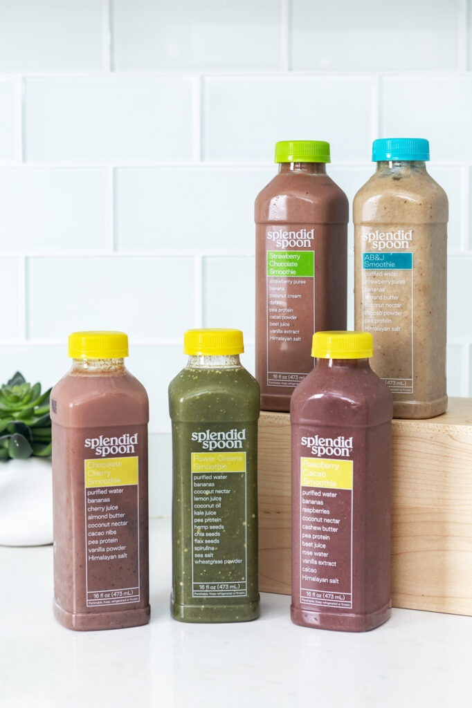 splendid spoon smoothies 682x1024 - My experience with Splendid Spoon's plant-based meals