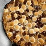 smores skillet2 150x150 - s'mores banana bread skillet (grain-free)